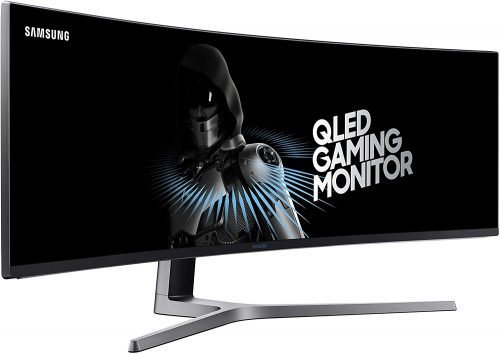 Samsung 49-Inch CHG90 144Hz Curved Gaming Monitor (LC49HG90DMNXZA) – Super Ultrawide Screen QLED Computer Monitor