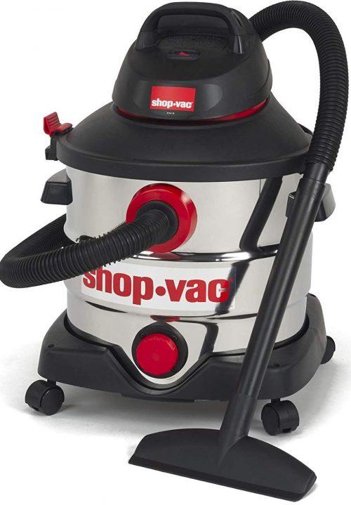 Shop-Vac 8 Gallon 6.0 Peak Hp Stainless Wet Dry Vacuum