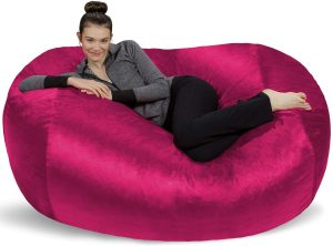 Sofa Sack - Plush Bean Bag Sofas with Super Soft Microsuede Cover - XL