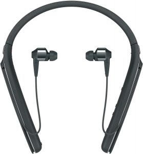 Sony Premium Behind-Neck in-Ear Headphones are popular in the market.