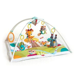 Tiny Love Gymini Deluxe Infant Activity Play Mat, Into the Forest