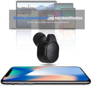 Smart Instant Translation Mini Single Ear Headset with Charging Box