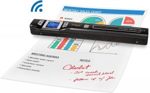 Vupoint Magic Wand Portable Scanner with Wi-Fi wireless