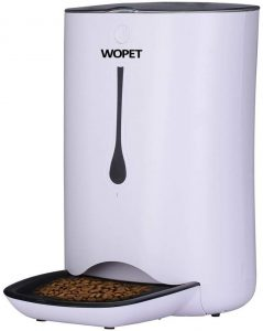 WOPET Automatic Pet Feeder Food Dispenser for Cats and Dogs–Features