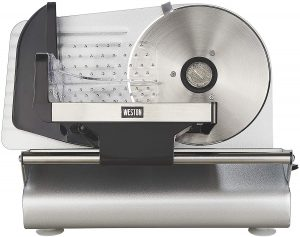 Weston 7.5-inch Steel Food Slicer