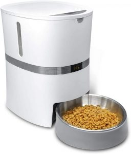 honeyguaridan A36 Automatic Cat Feeder, Pet Automatic Food Dispenser