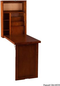 "Southern Enterprises Fold Out Convertible Desk 22"" Wide"