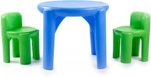 kids outdoor table and chair set | kids activity table and chair set