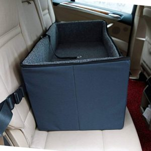 A4Pet Pet Lookout Booster Car Seat:Raised Pet Bed at Home for 2 Small Dogs