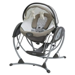 Graco Soothing System Gliding Baby Swing, Abbington