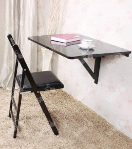 Haotian Folding Wall-Mounted Drop-Leaf, Kitchen Dining Table