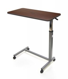 Invacare Overbed Table, with Auto-Touch Height Adjustment