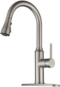 Kitchen Faucet Pull Down-Arofa A01LY Commercial Modern Single Hole