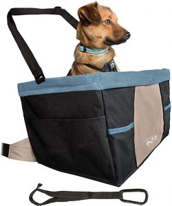 Kurgo Car Pet Booster Seat for Dogs or Cats | Front & Rear Dog Car Seat