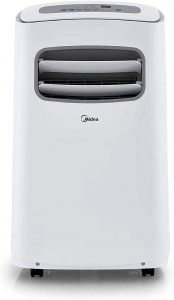 MIDEA MAP08S1BWT Portable Air Conditioner Wifi 8,000 BTU ALEXA enabled