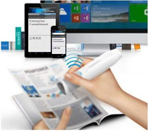 PenPower is a Bluetooth pen scanner and a translator for iPhone and Android devices.