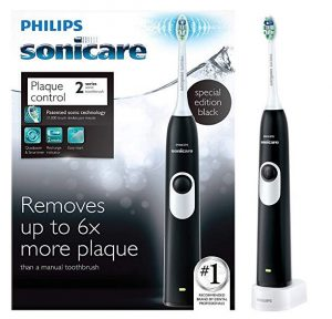Best in plaque control: Philips Sonicare 2 Series plaque control rechargeable electric toothbrush