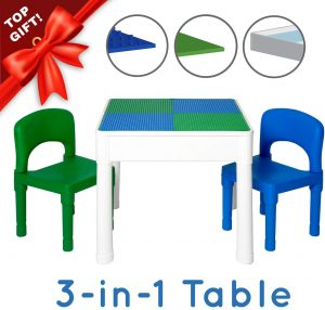 3-in1 kids table and chairs on amazon