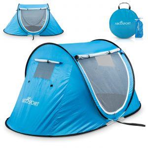Pop Up Tent - Automatic Instant Tent | Portable Cabana Beach Tent | Fits 2 People