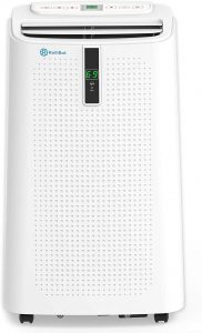 RolliCool Alexa-Enabled Portable Air Conditioner 12,000 BTU AC Unit with Heater