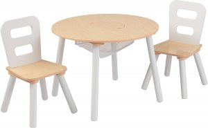 modern kids table and chair set