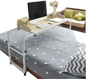 Salaks Overbed Table with Wheels King Size   over the bed desk