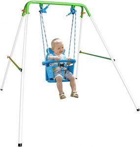 Sportspower My First Toddler Swing - Heavy-Duty Baby Indoor/Outdoor Swing Set