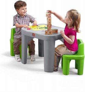 kids white table and chair set | little kids table and chair set