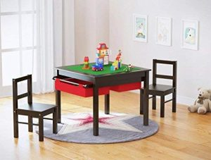 big kids table and chair set | kids activity table and chair set