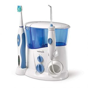Best in cleaning: Waterpik Complete Care Water Flosser and Sonic Toothbrush
