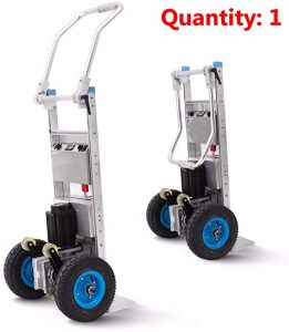 DC Motor and Battery Powered Stair climbing dolly