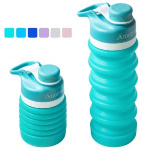 Anntrue Collapsible Water Bottle for daily use and travelling.