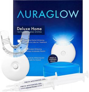 AuraGlow Teeth Whitening Kit | best at home teeth whitening kit