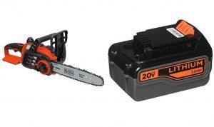 BLACK+DECKER LCS1020 20V Max Lithium Ion Chainsaw