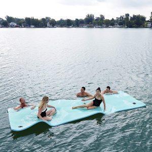 goplus floating water pad