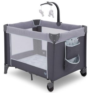 This playard is intended for little baby rather than grown up toddler.