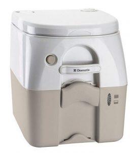 Dometic TAN 5 Gallon Portable Toilet | 5.0 Gallon Portable Mobile Camping Toilet