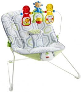 Fisher-Price Baby's Bouncer Geo Meadow | Amazon Baby Swing | Target Baby Swing | Walmart Baby Swing