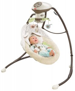 Wind up baby swing | Outside Baby Swing | Compact Baby Swing