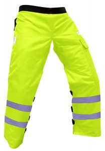 Forester Chainsaw Safety Chaps green