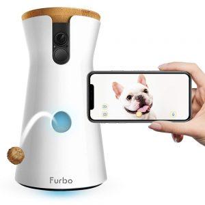 Furbo Dog Camera: Treat Tossing Full HD Wifi Pet Camera & pet video cameras