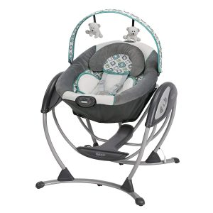 Graco Glider LX Baby Swing Affinia | Baby Outdoor Swing & Indoor Swing