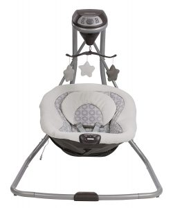 Graco Simple Sway Baby Swing is an Amazon baby swing which can be used for both indoor and outdoor.