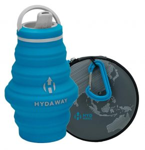 HYDAWAY Hydration Travel Pack is a Collapsible Travel Bottle for traveler