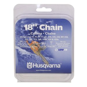 Husqvarna chainsaw chain 18-Inch .050 gauge .325 pitch low kickback low-vibration