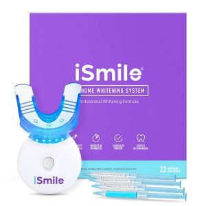 ISmile Teeth Whitening Kit is a set of at home teeth whitening kit