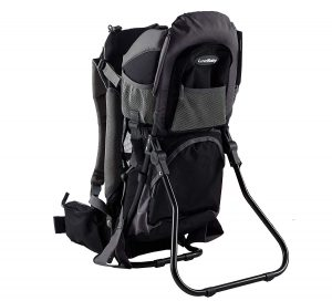Backpack traveler baby carrier
