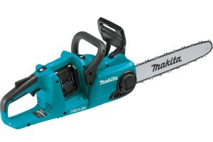 "Makita XCU03Z 18V X2 (36V) LXT Lithium-Ion Brushless Cordless 14"" Chain Saw"