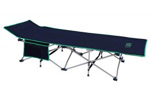 OSAGE RIVER Folding Camping Cot with Carry Bag | Portable and Lightweight Bed for Adults or Kids
