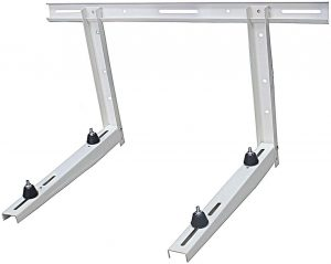 Outdoor Mounting Bracket for Ductless Mini Split Air Conditioner Heat Pump Systems
